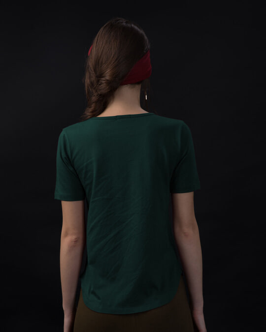 Shop Being Sexy Basic Round Hem T-Shirt-Full