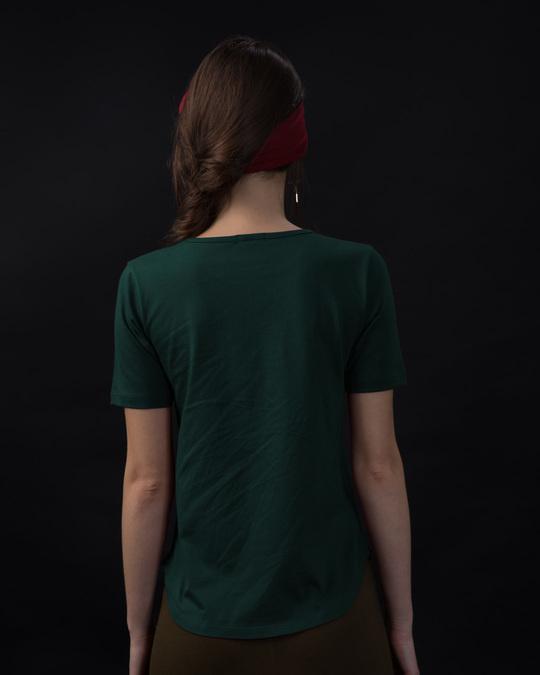 Shop Being Sexy Basic Round Hem T-Shirt-Design