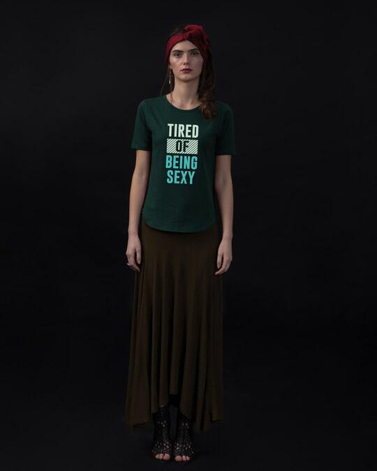 Shop Being Sexy Basic Round Hem T-Shirt-Full