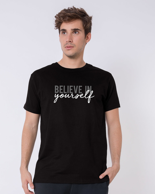 Shop Believe In You Half Sleeve T-Shirt-Back