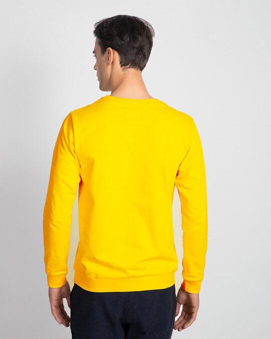 Shop Believe In Yourself Fleece Sweater Mimosa-Back