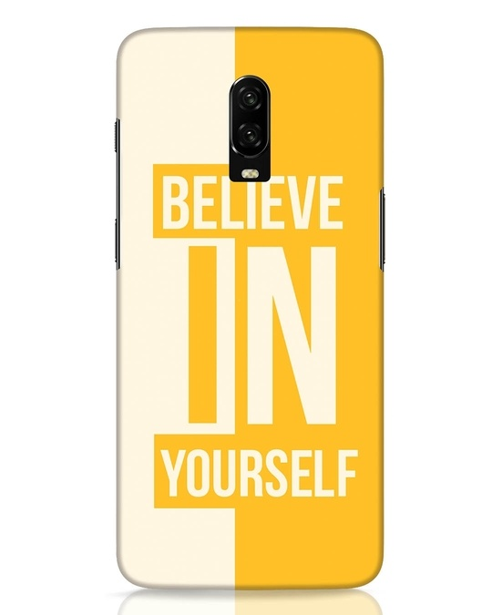 Shop Believe OnePlus 6T Mobile Cover-Front