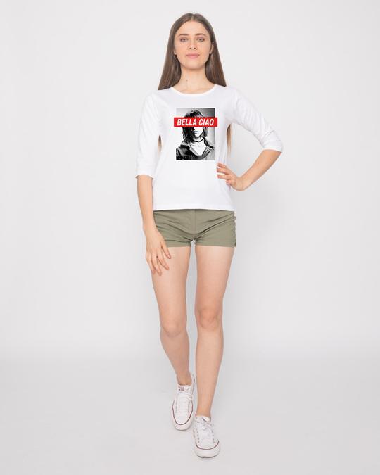 Shop Bella Tokyo 3/4th Sleeve T-Shirt-Design