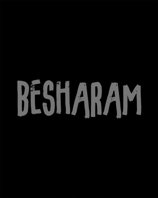Shop Besharam Half Sleeve T-Shirt
