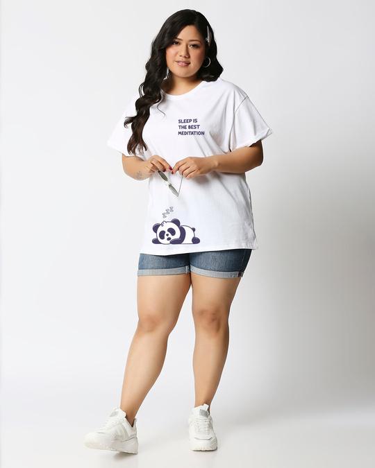Shop Best Motivation Boyfriend Printed T-Shirt Plus Size-Design