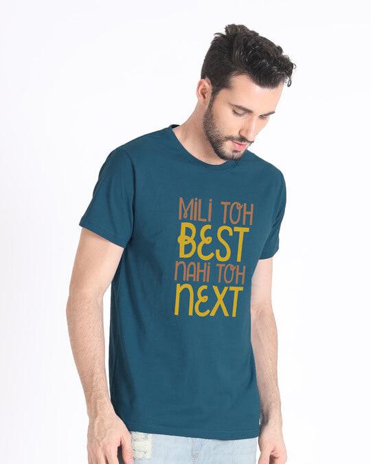 Shop Best Or Next Half Sleeve T-Shirt-Design