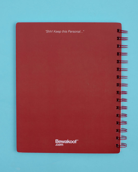 Shop Beta Mauka Hai Spiral Notebook-Full