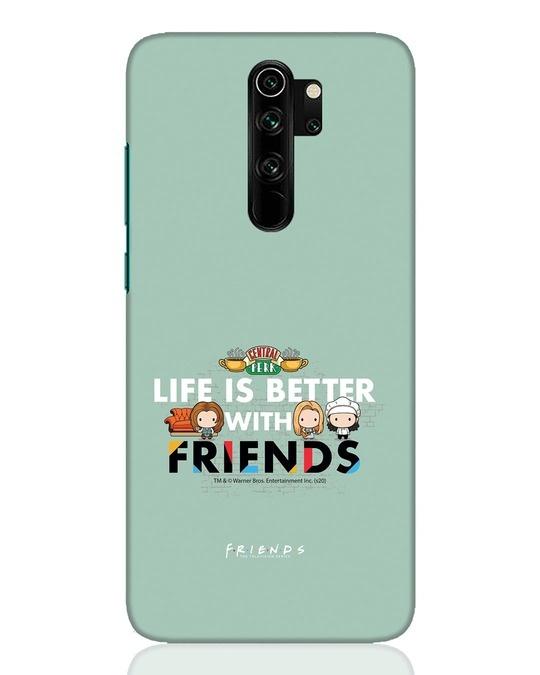 Shop Better Friends Xiaomi Redmi Note 8 Pro Mobile Cover (FRL)-Front