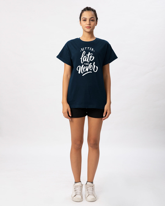 Shop Better Late Boyfriend T-Shirt