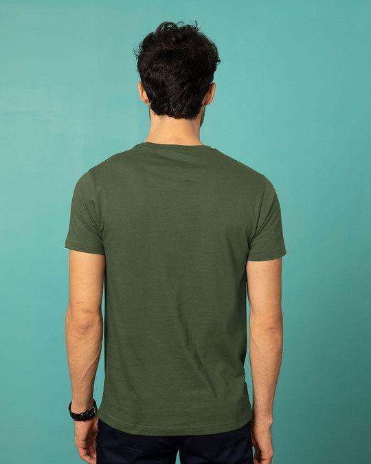 Shop Better Late Half Sleeve T-Shirt-Full