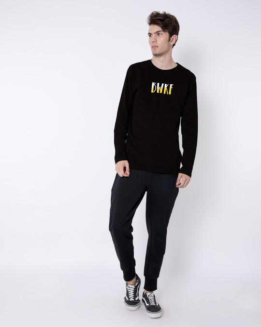 Shop Bewakoof Full Sleeve T-Shirt-Full