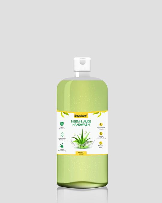 Shop Neem & Aloe Hand Wash (500ml)-Front