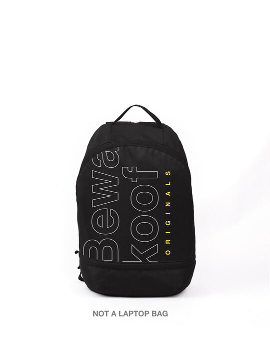 Shop Bewakoof Tribe 2 Printed Small Backpack-Front