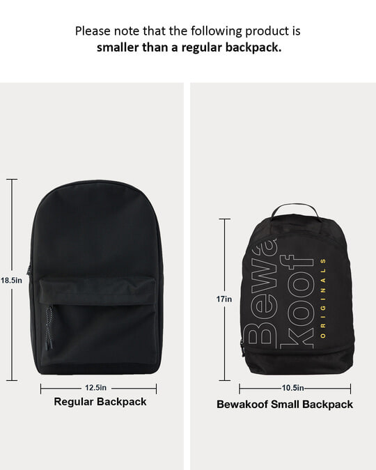 Shop Bewakoof Tribe 2 Printed Small Backpack-Full