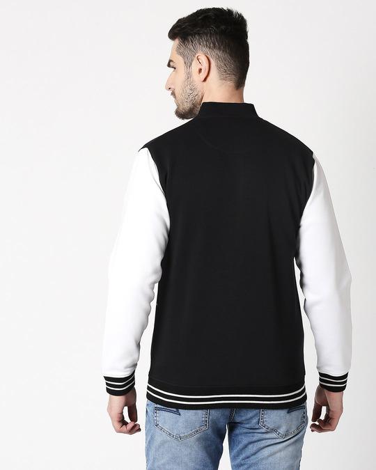 Shop Bewakoof Varsity Bomber Jacket-Design