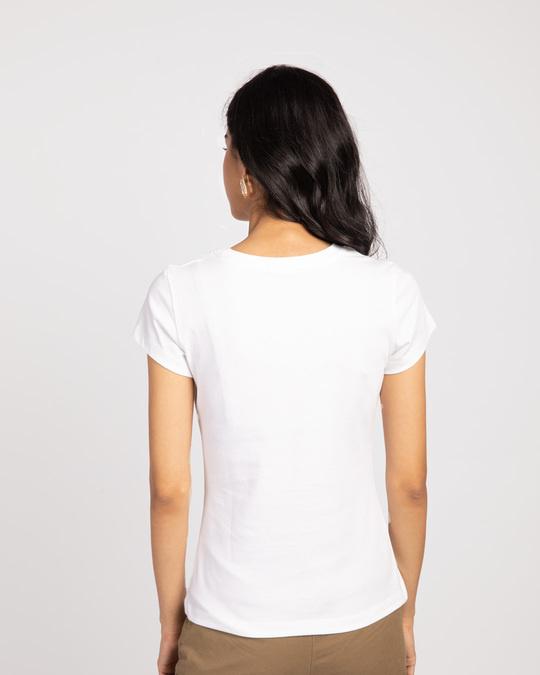Shop Bhai Behen Earthquake Half Sleeve T-shirt-Back
