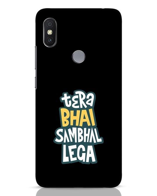 Shop Bhai Sambhal Lega Xiaomi Redmi Y2 Mobile Cover-Front
