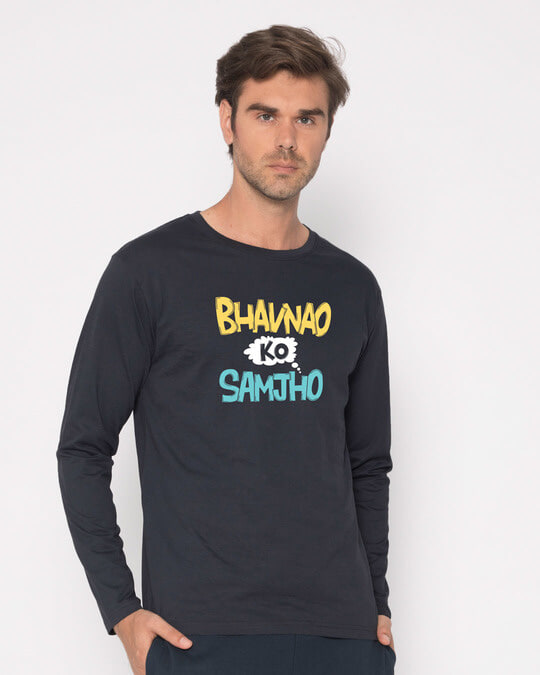 Shop Bhavanaye Full Sleeve T-Shirt-Back