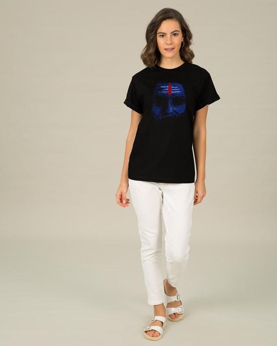 Shop Bholenaath Boyfriend T-Shirt-Full