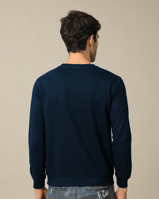 Shop Bholenaath Fleece Sweater-Back