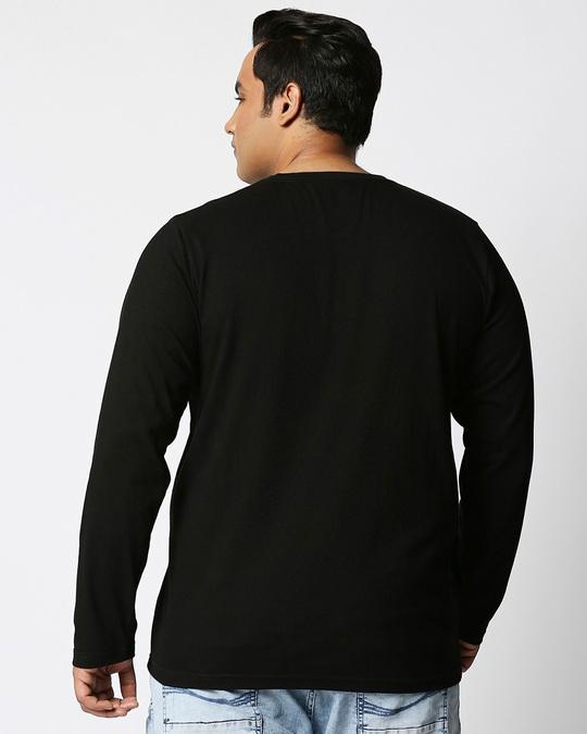 Shop Big Boy (TJL) Full Sleeves Plus Size T-Shirt-Design