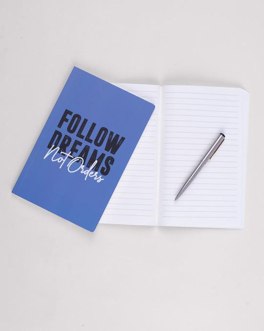 Shop Big Dreams Notebook-Back