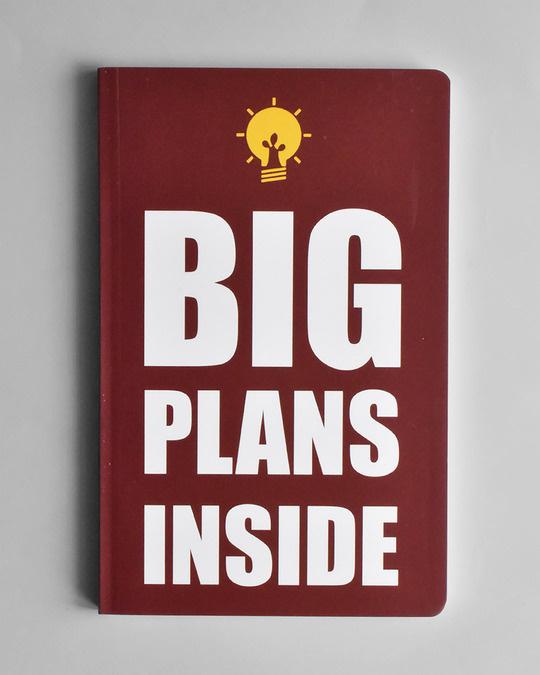 Shop Big Plans notebook  Soft Bound Notebook-Front