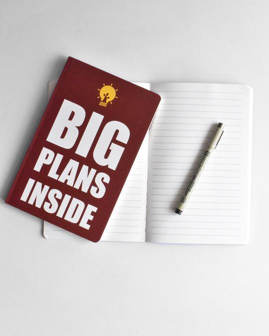 Shop Big Plans notebook  Soft Bound Notebook-Full