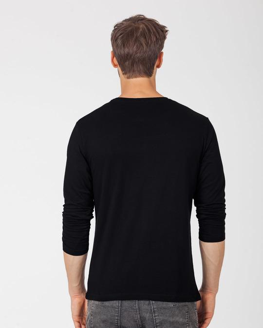 Shop Bike Mickey Full Sleeve T-Shirt (DL)-Back