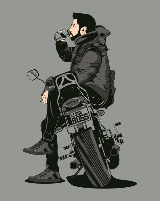 Shop Biker Boss Full Sleeve T-Shirt
