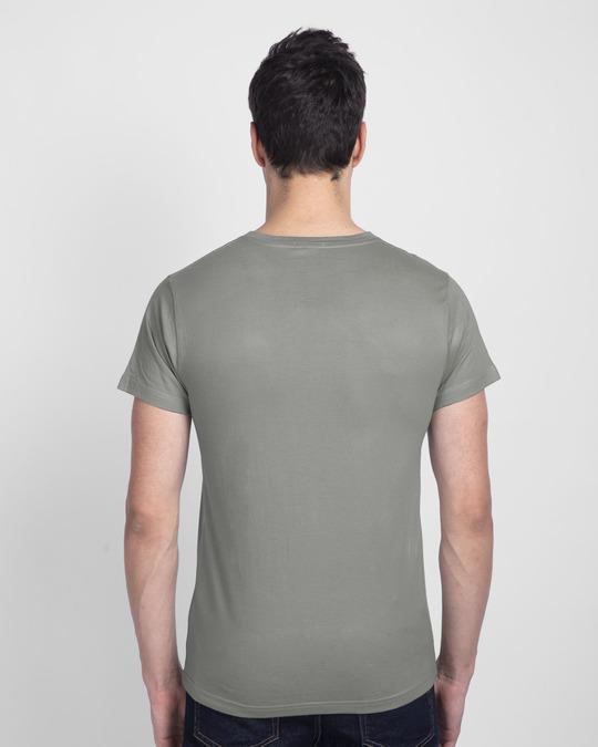 Shop Biker Bro Half Sleeve T-Shirt-Back