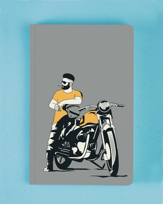 Shop Biker Bro Notebook-Front
