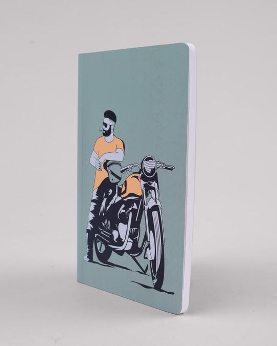 Shop Biker Bro Notebook-Back