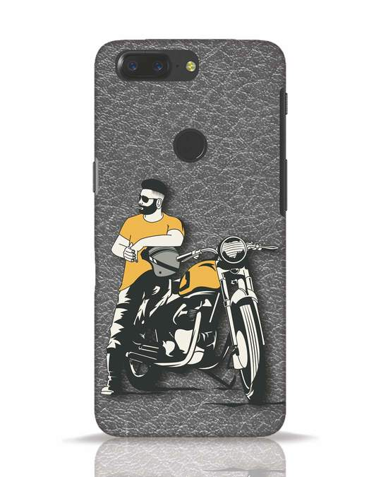 Shop Biker Bro OnePlus 5T Mobile Cover-Front
