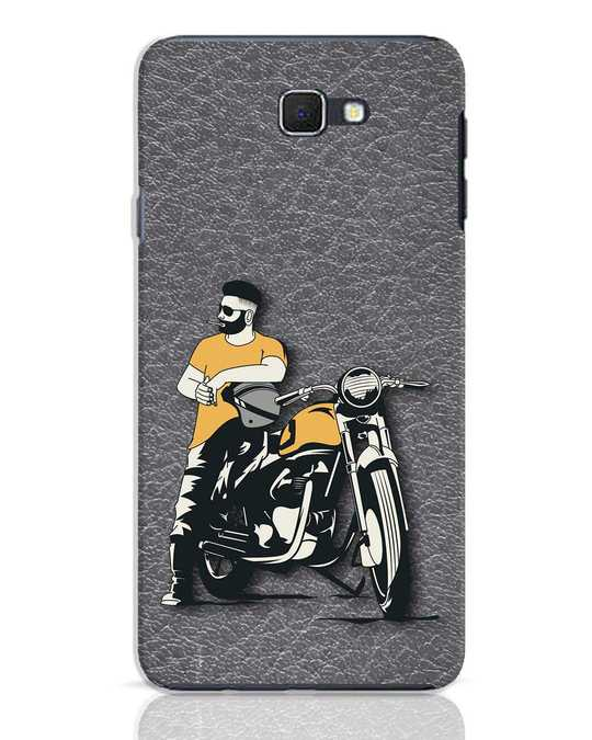 Shop Biker Bro Samsung Galaxy J7 Prime Mobile Cover-Front