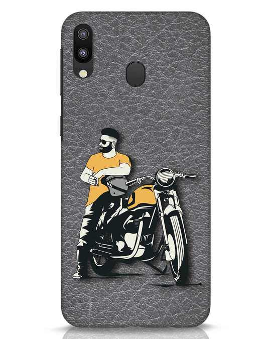 Shop Biker Bro Samsung Galaxy M20 Mobile Cover-Front