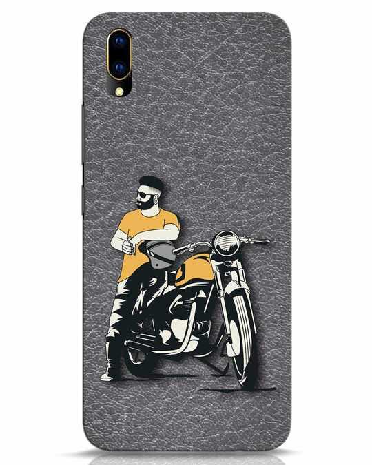 Shop Biker Bro Vivo V11 Pro Mobile Cover-Front