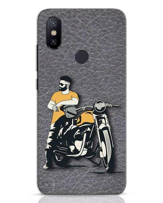 Shop Biker Bro Xiaomi Mi A2 Mobile Cover-Front