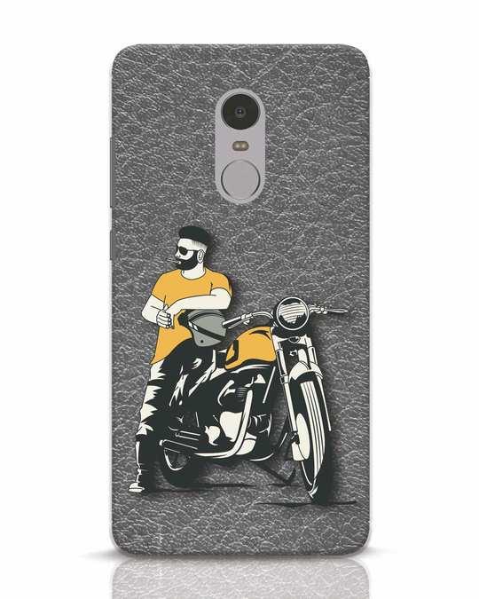 Shop Biker Bro Xiaomi Redmi Note 4 Mobile Cover-Front