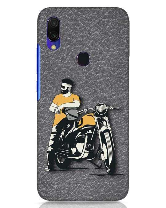 Shop Biker Bro Xiaomi Redmi Y3 Mobile Cover-Front