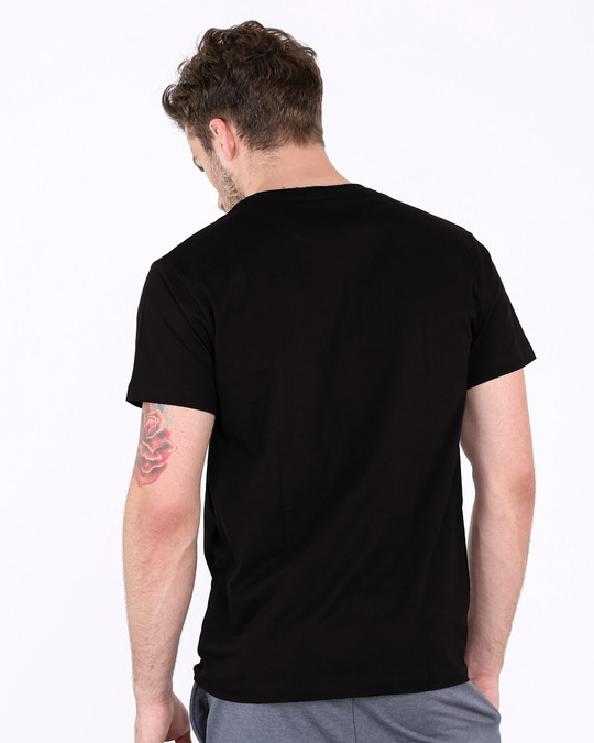 Shop Biker Dreams Half Sleeve T-Shirt-Back