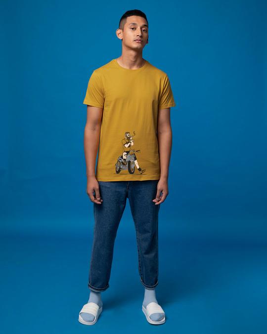Shop Biker Swag Half Sleeve T-Shirt-Full