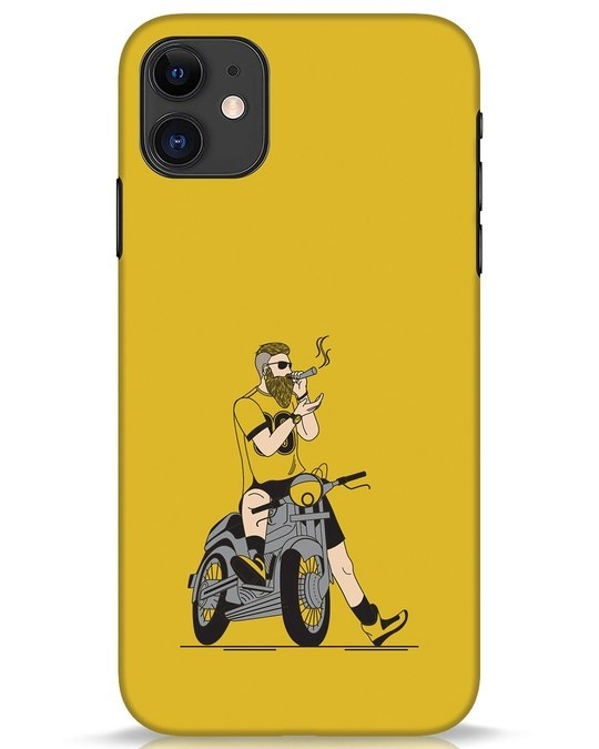 Shop Biker Swag iPhone 11 Mobile Cover-Front