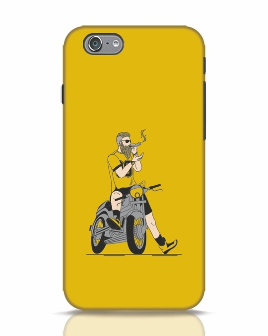 Shop Biker Swag iPhone 6s Mobile Cover-Front