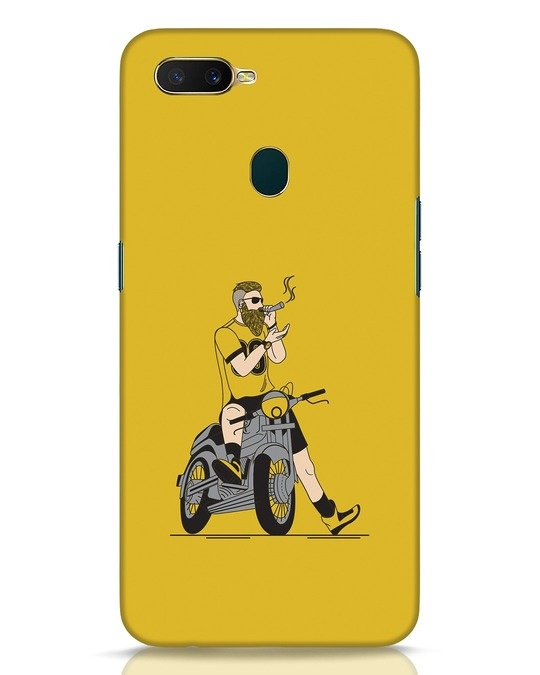 Shop Biker Swag Oppo A7 Mobile Cover-Front