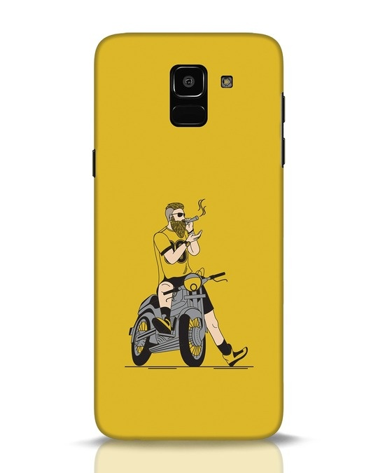 Shop Biker Swag Samsung Galaxy J6 Mobile Cover-Front