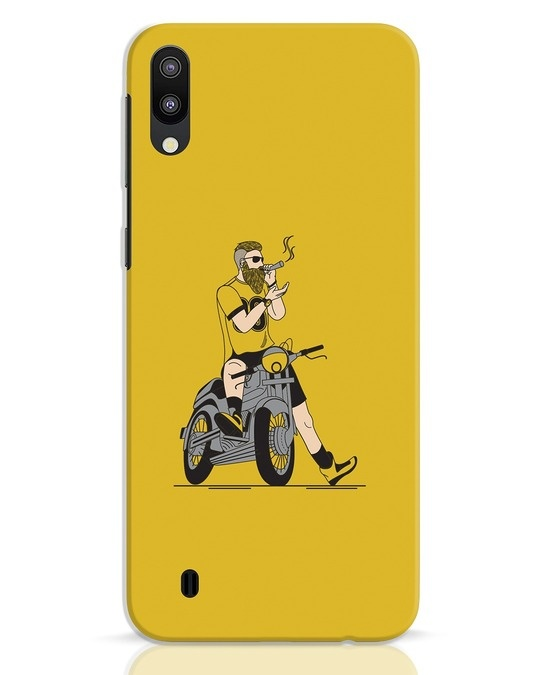 Shop Biker Swag Samsung Galaxy M10 Mobile Cover-Front