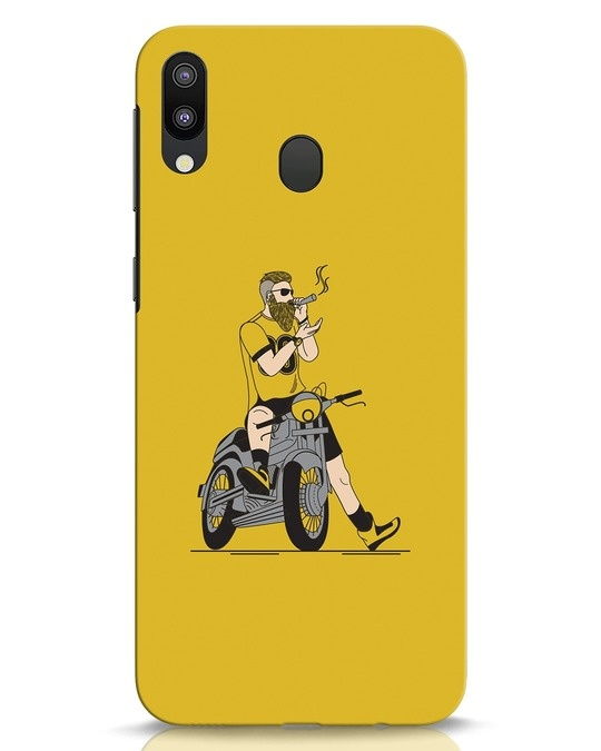 Shop Biker Swag Samsung Galaxy M20 Mobile Cover-Front
