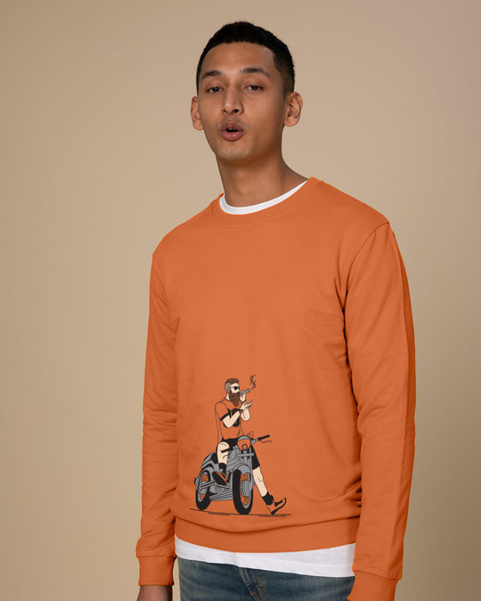 Shop Biker Swag Sweatshirt-Back