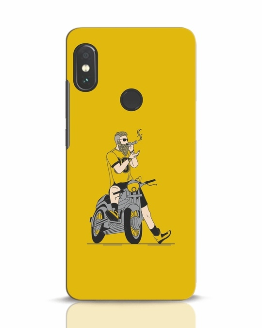 Shop Biker Swag Xiaomi Redmi Note 5 Pro Mobile Cover-Front